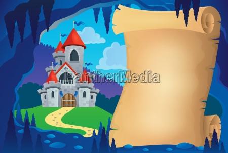 pergamena nella fiaba grotta immagine 1