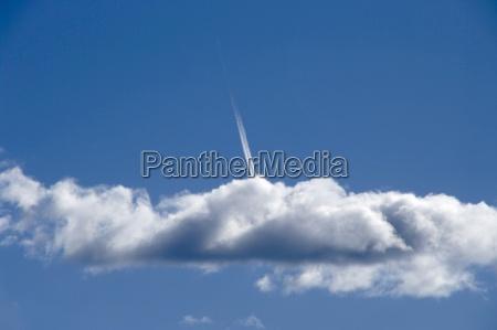 blu nuvola vapore clima condensazione cielo