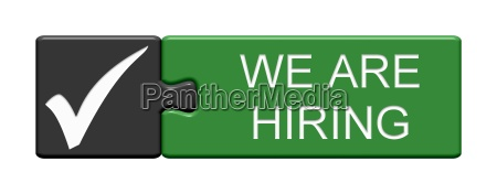 puzzle button shows we are hiring