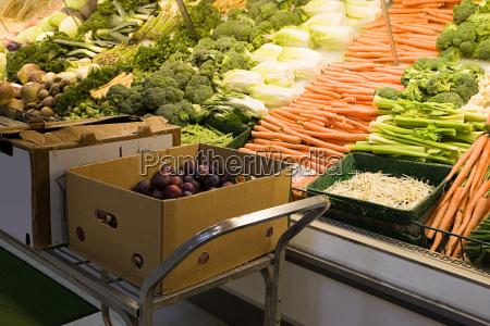 cibo verde orizzontale frutta negozio comperare