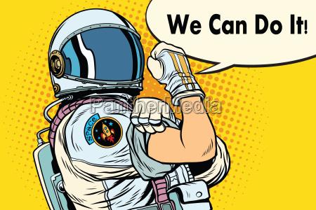 possiamo farlo astronauta