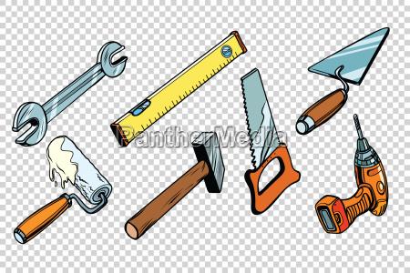 impostare gli strumenti di riparazione sfondo