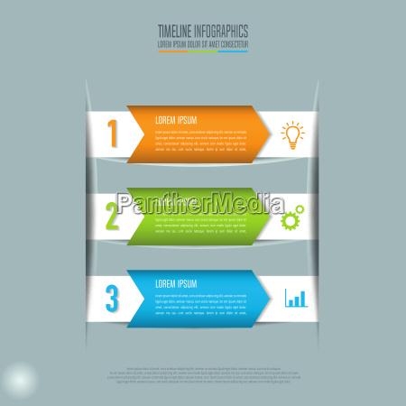 concept creativo per linfografica grafica vettoriale