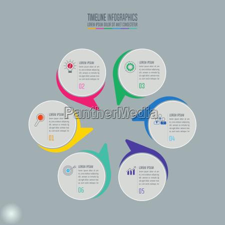 concetto, creativo, per, infografica., timeline, infografica - 22119829