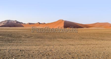 allontanarsi arancia collina parco deserto africa