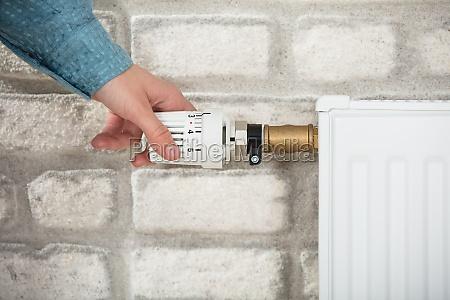 persona calore refrigeratore radiatore temperatura calorifero