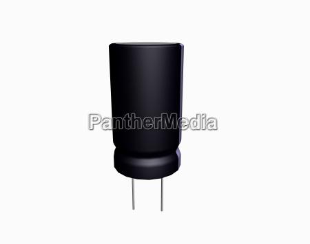 elettronica circuito stampato componenti condensatore scarica