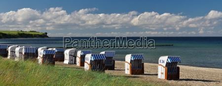 steilkueste baltic sea and beach baskets