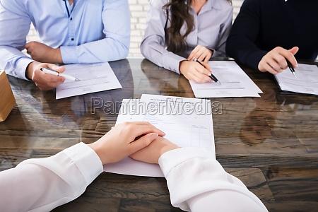 intervista avoro reclutamento colloquio curriculum aziendale