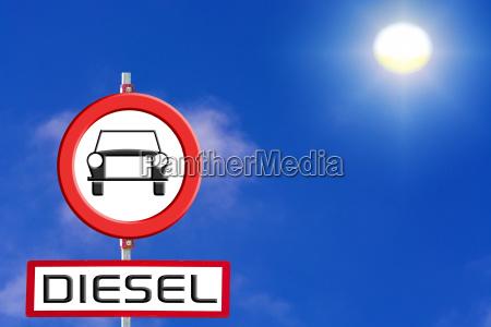 firma auto diesel vietate dal cielo