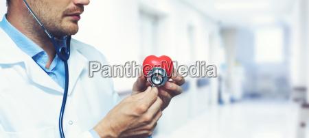 concetto cardiaco di cuore cura