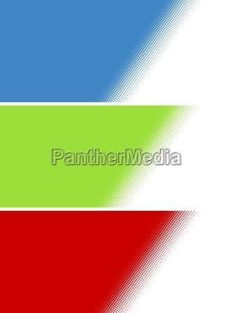 blu rilasciato opzionale colore grafico verde