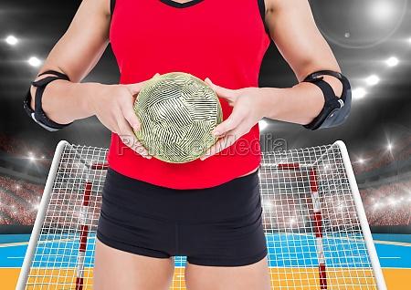 donna sport dello sport femminile palla