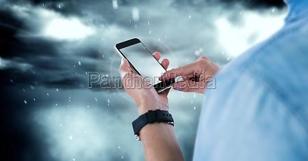 telefono blu cellulare ambiente virile mascolino