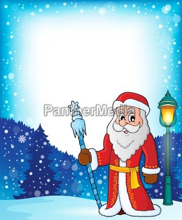 immagine a tema di padre frost