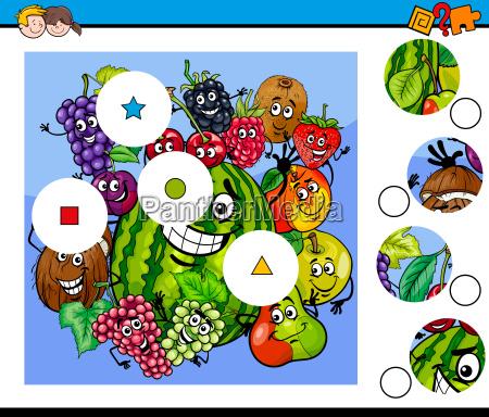 educazione gioco giocato giocare illustrazione puzzle