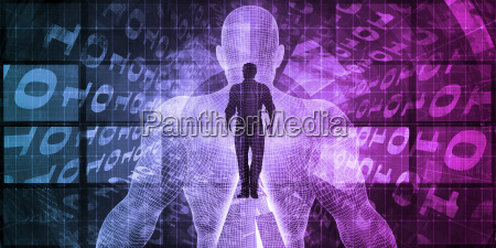 flusso di informazioni digitali