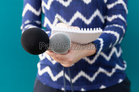 journalist news conference public relations
