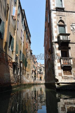 venezia canale gondola carnevale stile di