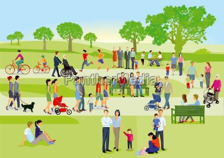 le famiglie e gli individui recuperano