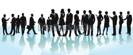 conferenza di lavorodiscussioneillustrazione