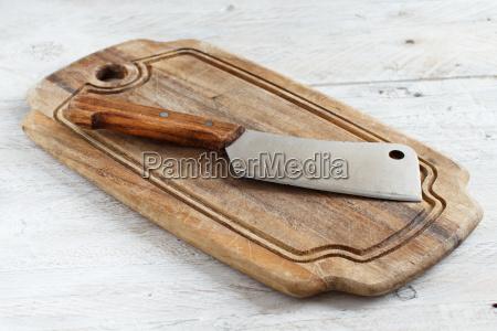 cibo lavagna pannello scrivania legno marrone