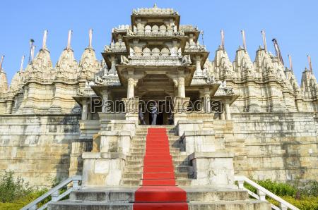 vista esterna del tempio giainario di