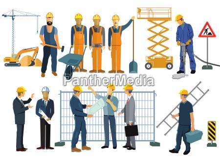 piano commesso dipendente impiegato artigiano costruire