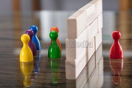 blu legno separati proteggere scatola scatolame