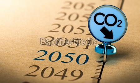 2050 piano climatico ridurre limpronta di
