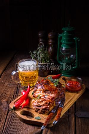 cibo pane primo piano americano legno
