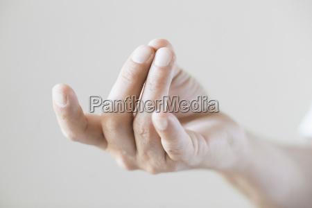 primo piano close up orizzontale gestualita