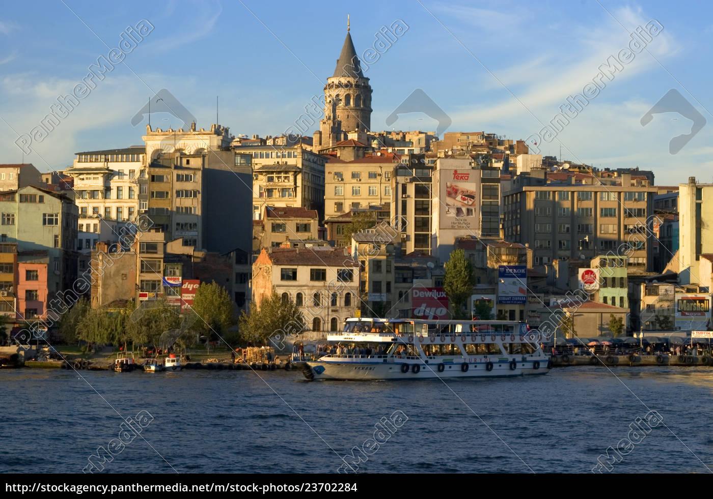 istanbul, corno, d'oro, turchia, di, fronte - 23702284