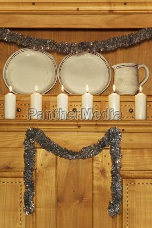 luce cosa oggetto arredamento candela fila