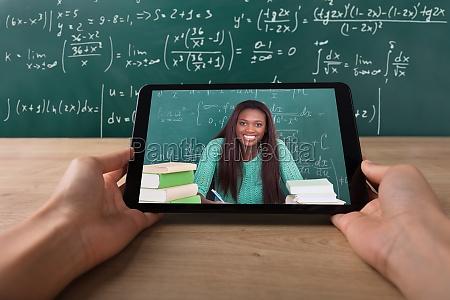 insegnante professore maestro educazione africano schermo