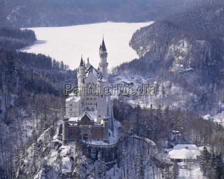 inverno europa baviera visita turistica germania