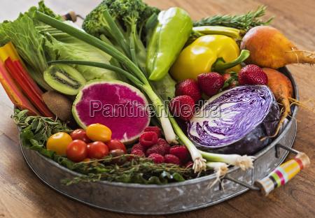 cibo verde freschezza orizzontale frutta verdura