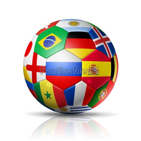 russia 2018 pallone da calcio con