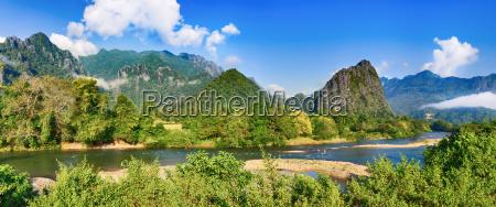 bello bella sguardo vista paesaggio natura