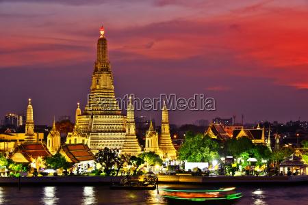 tempio thailandia bangkok punto di riferimento