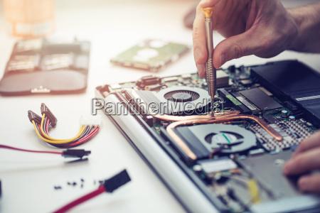 ufficio portatile computer pc interno componente