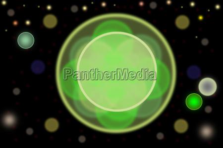 blu verde centro cerchio astratto cerchi