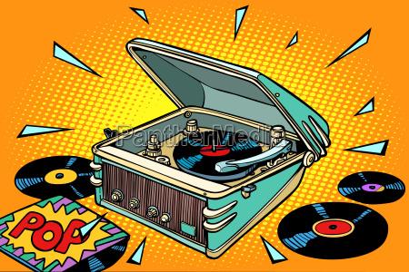 discoteca ascoltare oggetto singolo divertimento musica