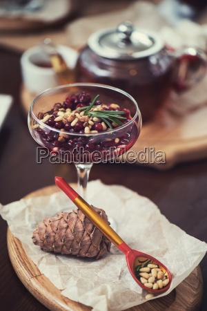 dessert, da, beriies, con, semi, di - 24246326