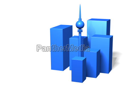 blu casa grattacielo costruzione citta metropoli