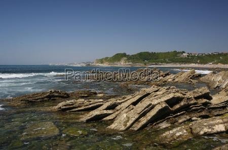 rock formation felskuste atlantikkuste near saint