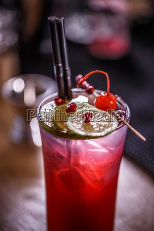 bicchiere bere succo bevanda melagrana limone