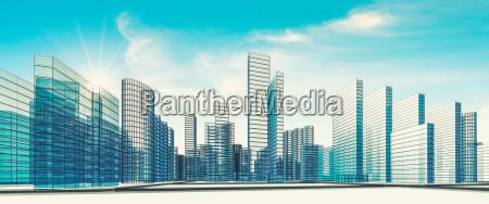 blu bicchiere ufficio costruzione case citta