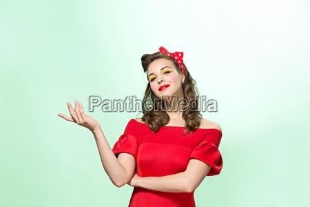 donna risata sorrisi bello bella dito