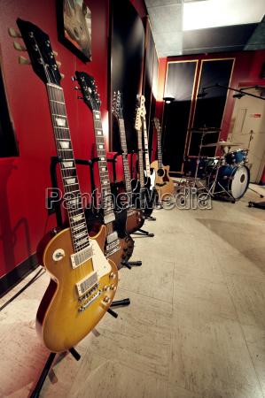 chitarre, in, studio, musicale - 25042634